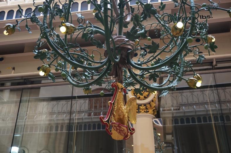 Nice chandelier.