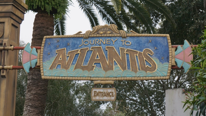 It was time to ride Journey to Atlantis!