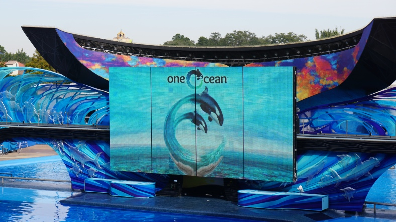 The One Ocean show is where we ended up.