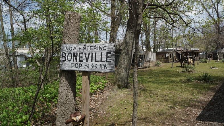 Boneville was open for business though!